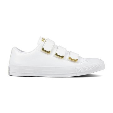 Converse Chuck Taylor All Star Women's 3V White/Gold