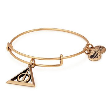 Alex and Ani Harry Potter™ Deathly Hallows™ Expandable Bangle, Gold Finish