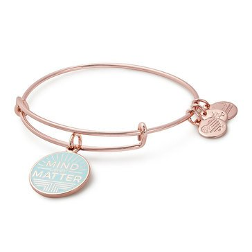 Alex and Ani Mind Over Matter Expandable Bangle, Rose Gold Finish