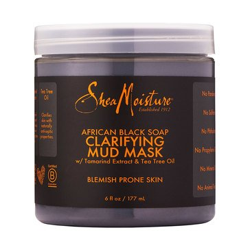 Shea Moisture African Black Soap Mud Mask 6oz