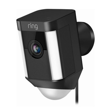 Ring Spotlight Cam Battery Outdoor Security Camera-Black
