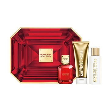 Michael Kors Sexy Ruby 3-Piece Holiday Gift Set