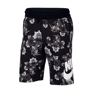 Nike NSW Men's Floral Shorts - Black