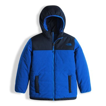 The North Face Big Boys' Reversible True or False Jacket, Bright Cobalt Blue