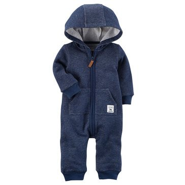 Carter's Baby Boys' Fleece Jumpsuit