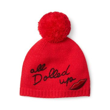Kate Spade All Dolled Up Beanie Charm Red