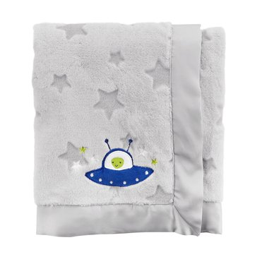Carter's Baby Boys' Plush Blanket, Space