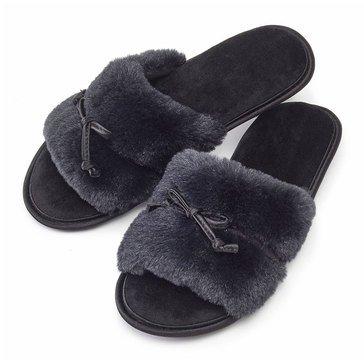 Totes Fur Bonita Slide Black