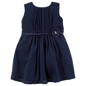 Carter's Baby Girls' Holiday Dress, Crinkle Chiffon