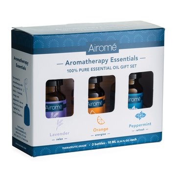 Airome Aromatherapy 100% Pure Essentials Oils Gift Set