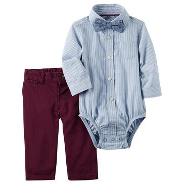 Carter's Baby Boys' Holiday 2-Piece Pant Set