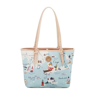 Spartina 449 Small Tote Northeastern Harbors