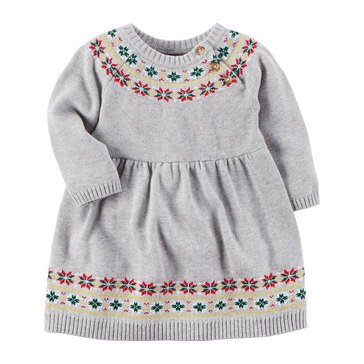 Carter's Baby Girls' Fair Isle Dress