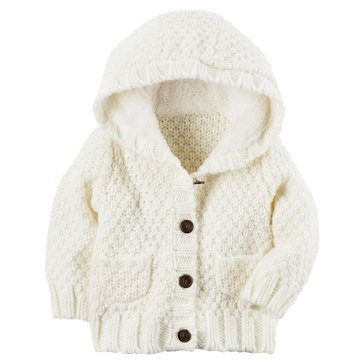 Carter's Baby Girls' Sweater Knit Jacket