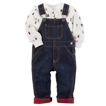 Carter's Baby Boys' Overall Set