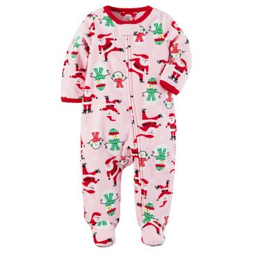 Carter's Baby Girls' Christmas Sleep 'N Play, Santa