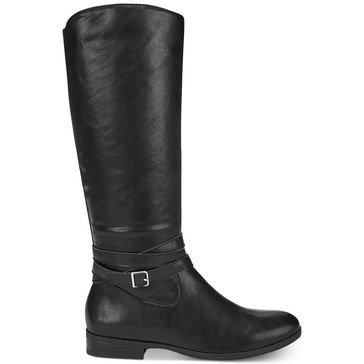 Style & Co Keppurp Strap Tall Boot Black