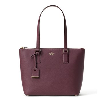 Kate Spade Cameron Street Small Lucie Tote Deep Plum