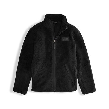 The North Face Big Boys' Sherparazo Fleece Jacket, Black
