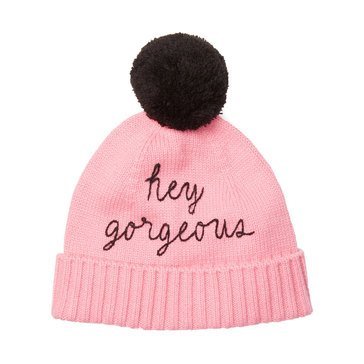 Kate Spade Hey Gorgeous Beanie Pink