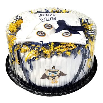 Future Tailgaters Baby Cake Shower Gift Set (Includes Blanket, Onesies, Booties & Bib)