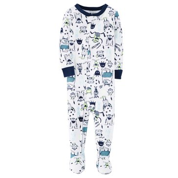 Carter's Baby Boys' Cotton Pajamas, Monster