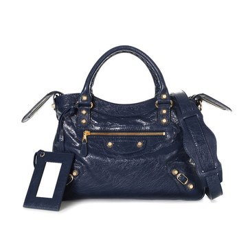 Balenciaga Town Satchel Giant Hardware Blue