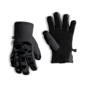 The North Face Big Boys' Denali Etip Glove, Graphite