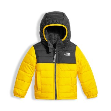The North Face Toddler Boys' Reversible Mount Chimborazo Hoodie, Canary Yellow