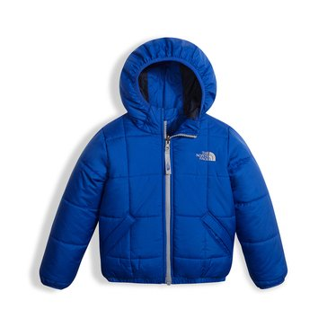 The North Face Toddler Boys' Reversible Perrito Jacket, Bright Cobalt Blue