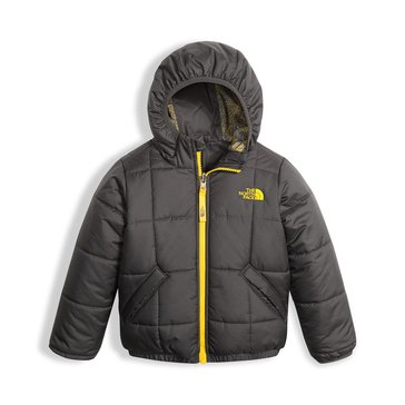 The North Face Toddler Boys' Reversible Perrito Jacket, Graphite Grey