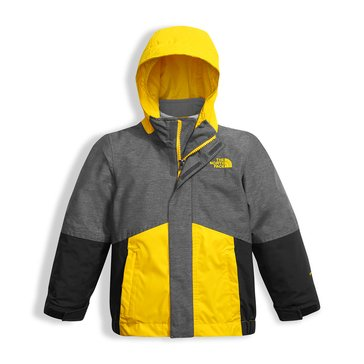 The North Face Toddler Boys' Boundary TriClimate Jacket, Grey Heather