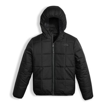 The North Face Big Boys' Reversible Perrito Jacket, Black