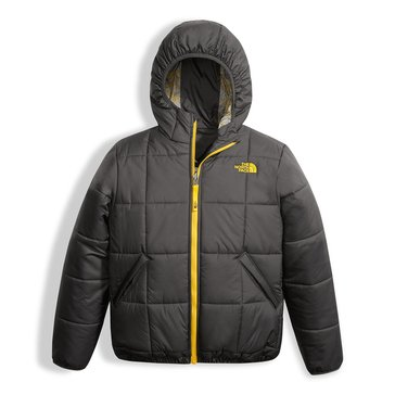 The North Face Big Boys' Reversible Perrito Jacket, Grey