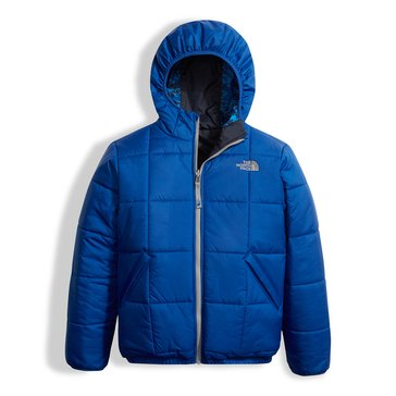 The North Face Big Boys' Reversible Perrito Jacket, Blue