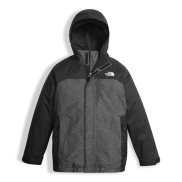 The North Face Big Boys' Vortex Triclimate Jacket, Black