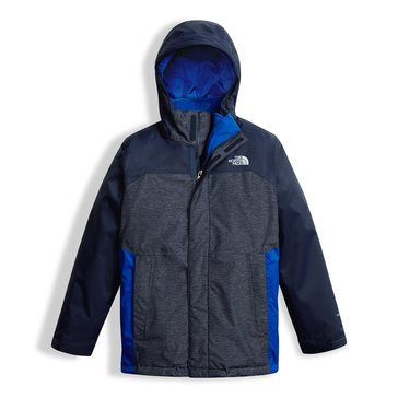 The North Face Vortex TriClimate Boys' Jacket, Cosmic Blue