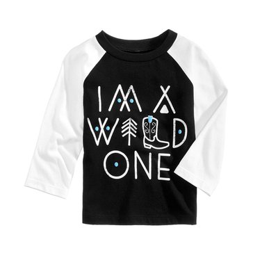 First Impressions Baby Boys' Wild One Reglan Tee