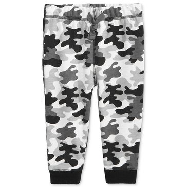First Impressions Baby Boys' Camo Knit Joggers