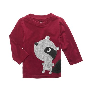 First Impressions Baby Boys' Raccoon Tee