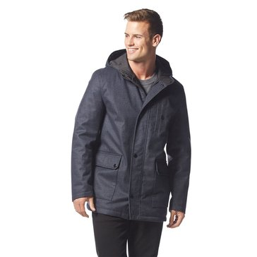 Kenneth Cole Men's Bonded Hood Car Coat