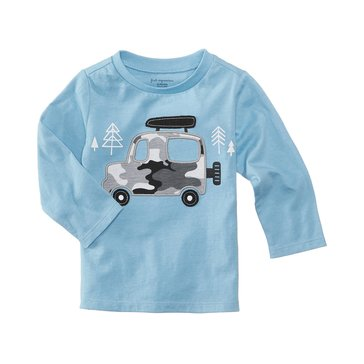 First Impressions Baby Boys' Camp Truck Tee
