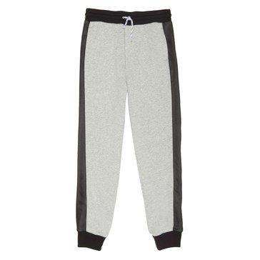 French Toast Toddler Boys' Mesh Fleece Joggers, Grey