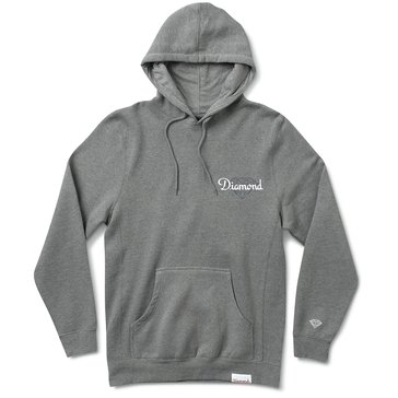Diamond Supply Men's Champagne Cut Fleece Hoodie