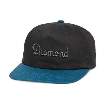 Diamond Supply Men's Champagne Strapback Hat