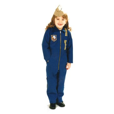 FlightLine Kids Blue Angels Suit With Blue Angels & USA Flag Patch - Made in USA