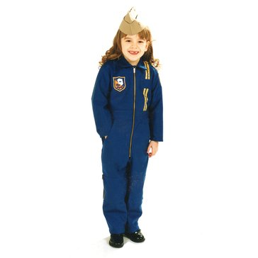 Flightline Kids Blue Angels Youth Suit With Blue Angels & USA Flag Patch - Made in USA