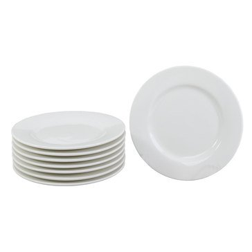 Oneida Chef's Table Appetizer Plates, Set of 8