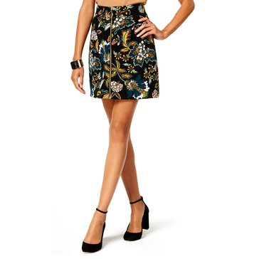 INC International Concepts Ottoman Print Mini Skirt in Beautiful