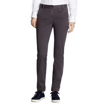 Brooks Brothers Cotton Twill Pant in Forged Iron Grey